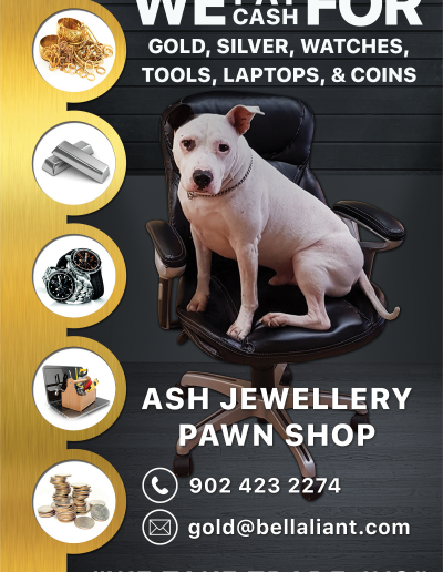 ASH JEWELLERY Banner sign
