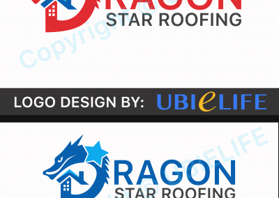 Dragon Star Roofing Logo V1