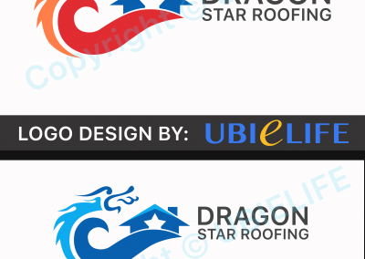Dragon Star Roofing Logo V2