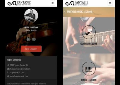Fantasie Music App