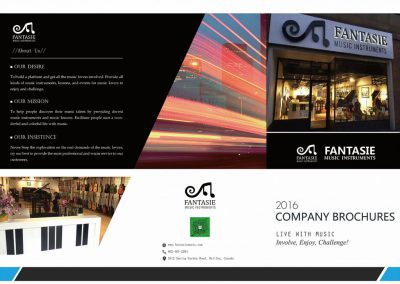 Fantasie Music Brochure